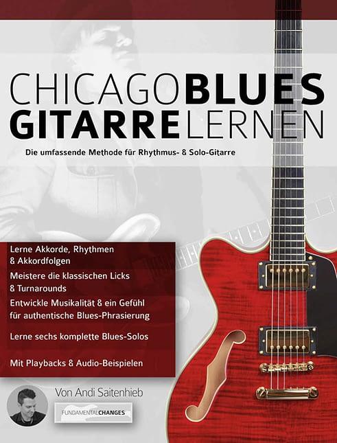 Buchcover Chicago Bluesgitarre lernen