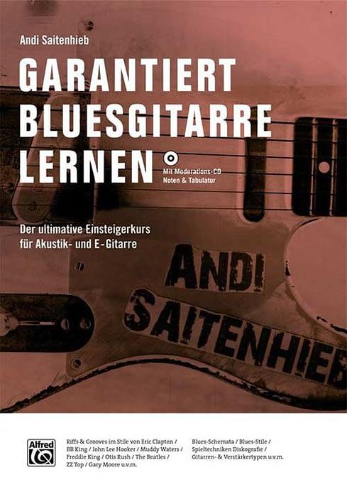 Buchcover Garantiert Bluesgitarre lernen